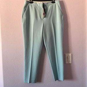 New baby blue Topshop pants